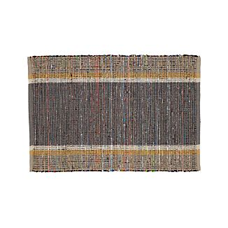 Quentin Grey Cotton 2'x3' Rug