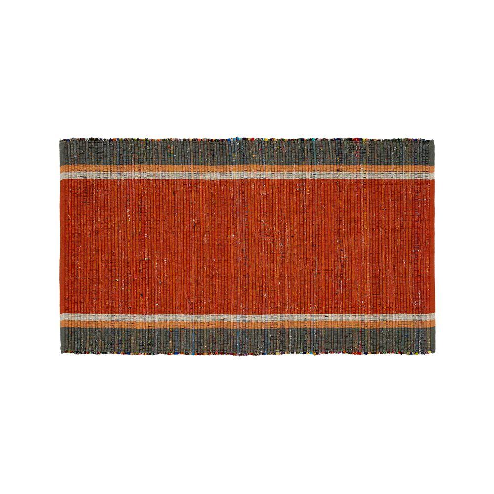 Quentin Orange Cotton 30