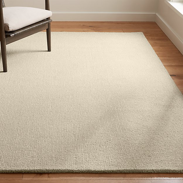 Quinn Natural Wool Rug Crate And Barrel