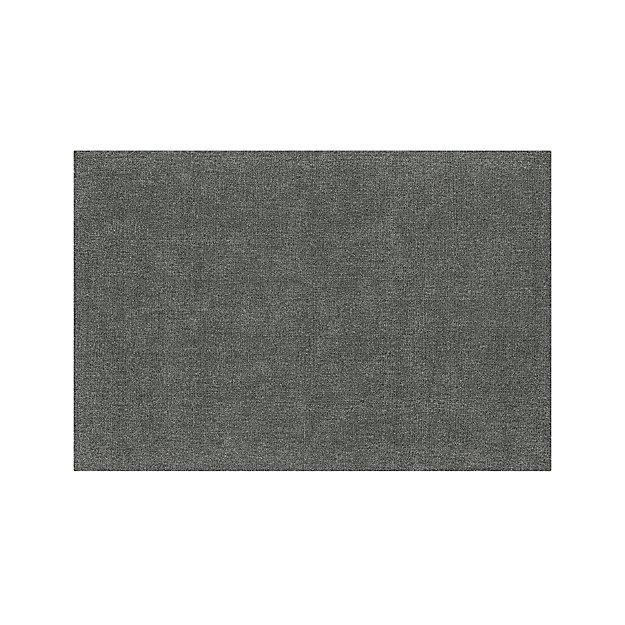 Quinn Slate Wool 6'x9' Rug