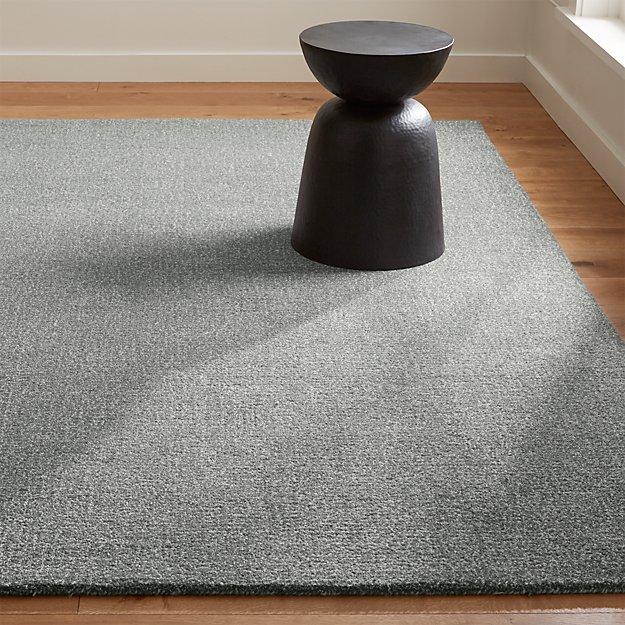 Quinn Slate Wool Rug