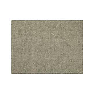 Quinn Taupe Wool 9'x12' Rug