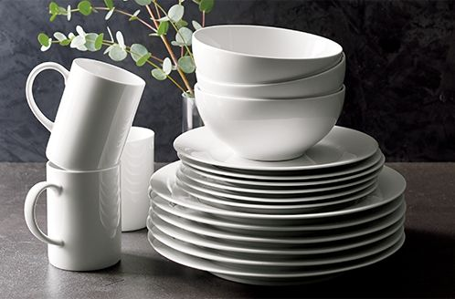 White dinnerware set & Unique Dinnerware Buying Guide | Crate and Barrel