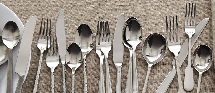 silverware styles - Stainless Steel Flatware