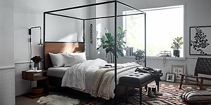 Bedroom Inspiration & Ideas   Crate and Barrel