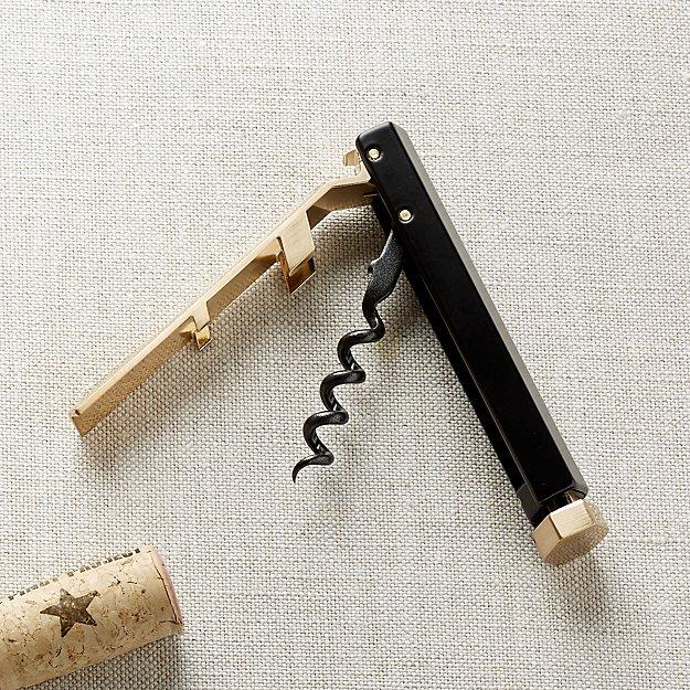 rabbit rbt waiter 39 s corkscrew crate and barrel. Black Bedroom Furniture Sets. Home Design Ideas