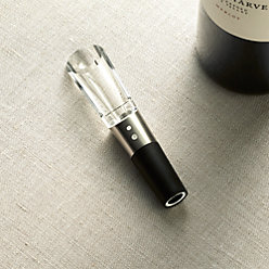 vino champagne glass crate and barrel. Black Bedroom Furniture Sets. Home Design Ideas