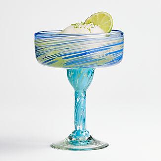 Rae Swirl Margarita Glass
