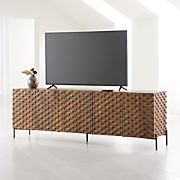 Enjoyable Tv Stands Media Consoles Cabinets Crate And Barrel Uwap Interior Chair Design Uwaporg