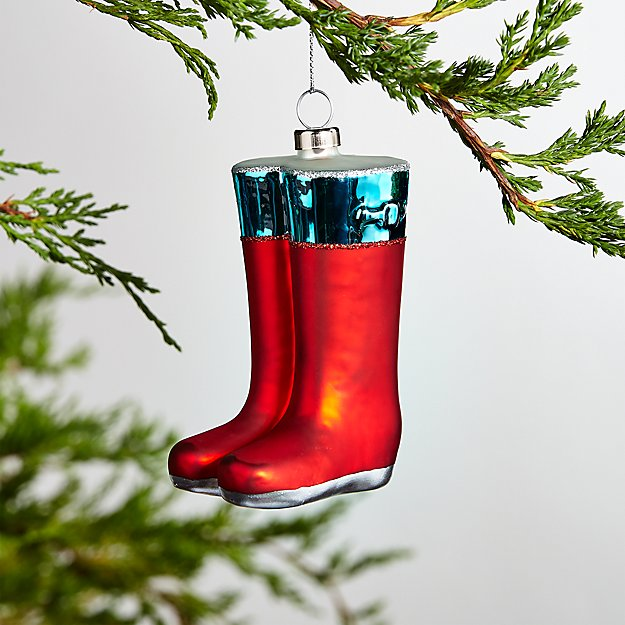 Rain Boots Ornament - Image 1 of 1