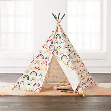 buy popular 6783a 1518a Rainbow Teepee