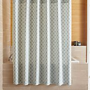 Raj Blue Shower Curtain
