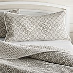 Raj Reversible Grey King Sham