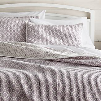 Raj Reversible Purple Quilts and Pillow Shams