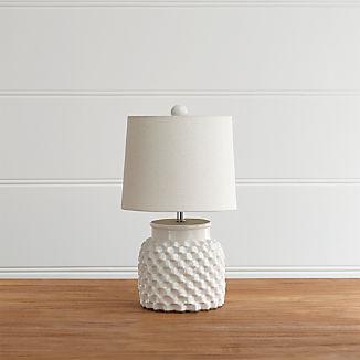 Rati Small White Table Lamp