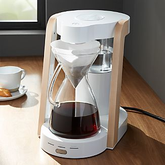 Ratio Eight White 8-Cup Coffee Maker