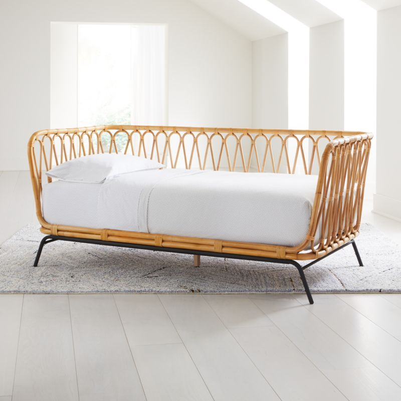 Rattan Twin Daybed Reviews Crate And Barrel