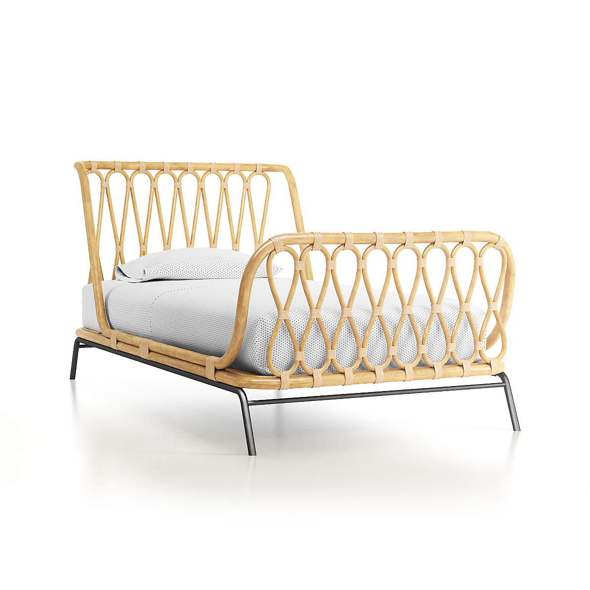 Rattan Kids Twin Bed Reviews Crate And Barrel Canada