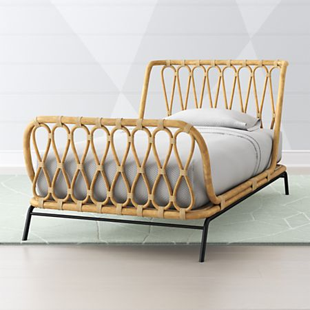 Rattan Kids Bed Crate And Barrel