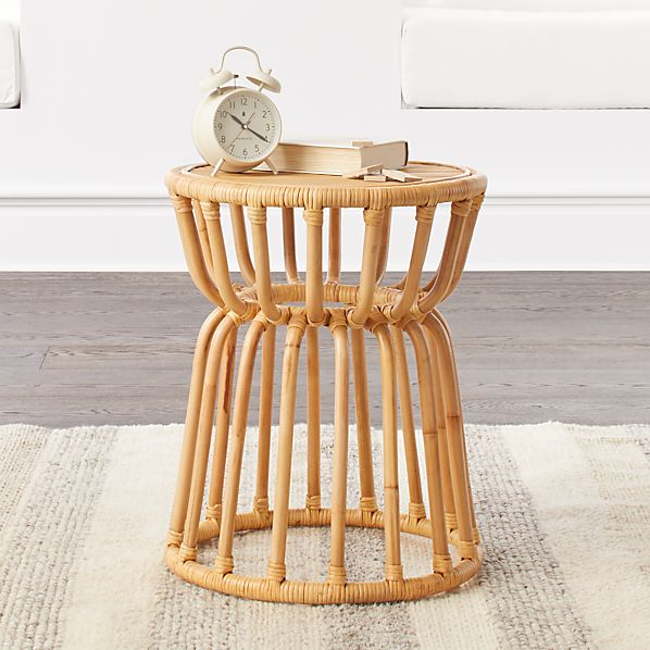 Marvelous Kids Rattan Nightstand Uwap Interior Chair Design Uwaporg