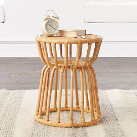 Brilliant Kids Rattan Nightstand Gmtry Best Dining Table And Chair Ideas Images Gmtryco