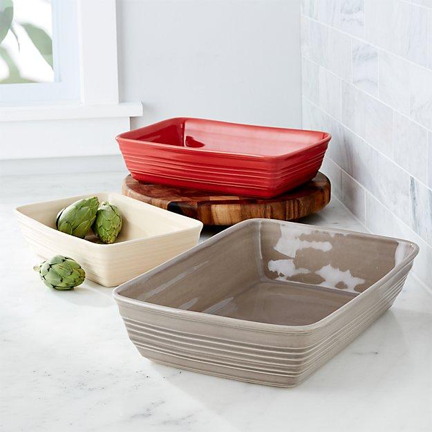 Ravenna Baking Dishes, Set of 3