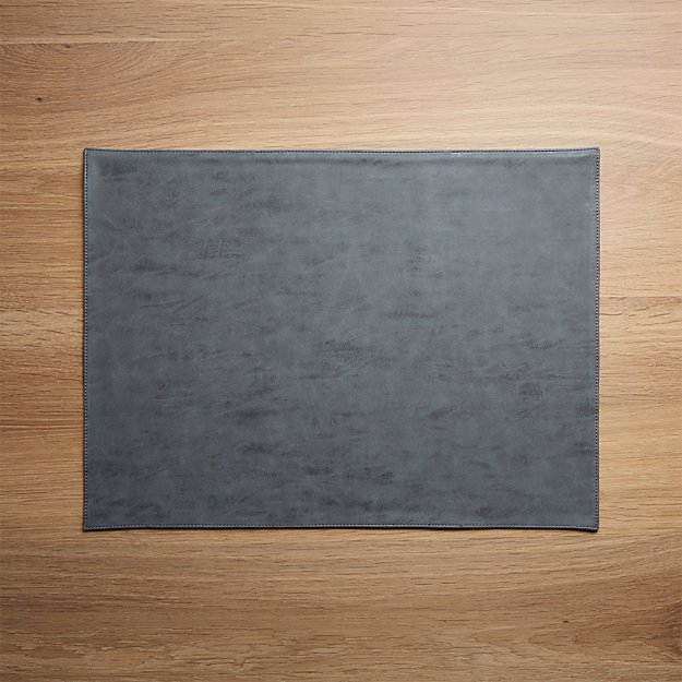 Ravine Reversible Faux Leather Placemat - Image 1 of 4