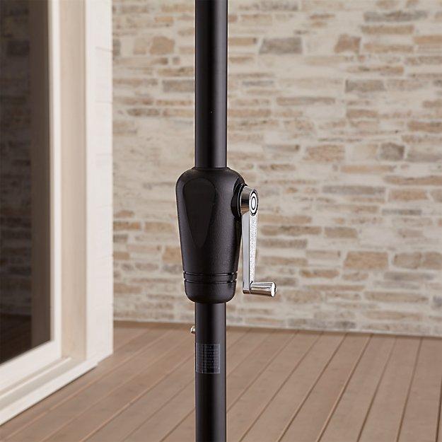 Rectangular Black Umbrella Frame - Image 1 of 4