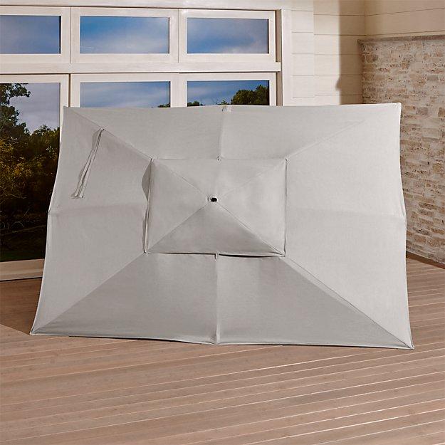 Rectangular Sunbrella ® Silver Umbrella Canopy - Image 1 of 3