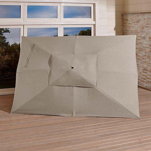 Rectangular Sunbrella Canopy Reviews Crate And Barrel