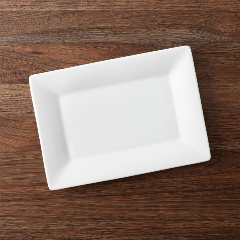 Small Rectangular Plate Reviews Crate And Barrel