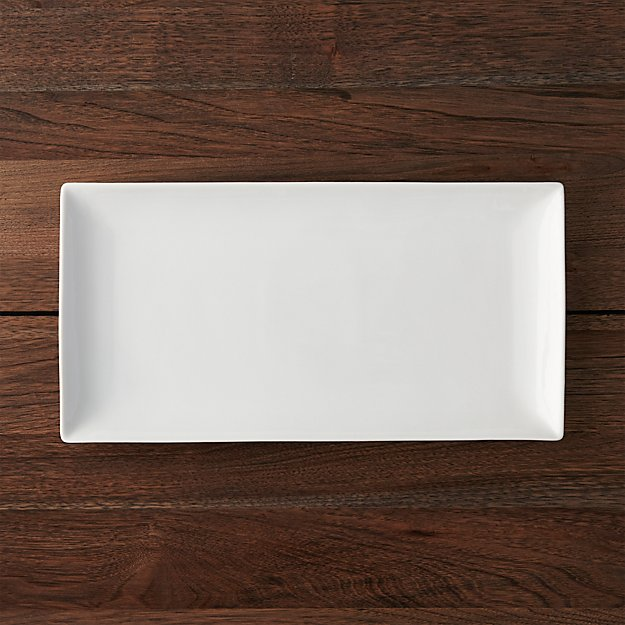 "Rectangle 15""x7.75"" Platter"