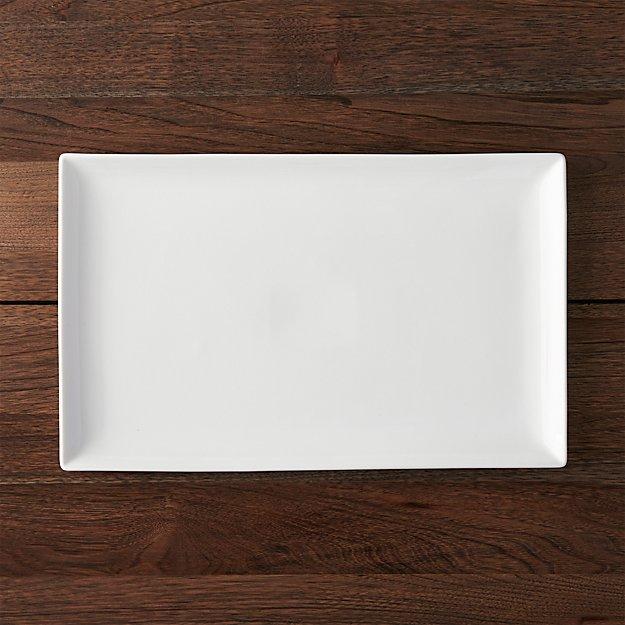 Rectangular 16 5 X10 25 Platter Reviews Crate And Barrel