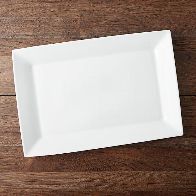 Recantgular Serving Platter Reviews Crate And Barrel