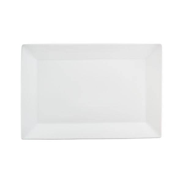 "Rectangular Rim 18.5""x12.5"" Large Platter"