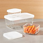 Rectangular Storage Container, Set of 3