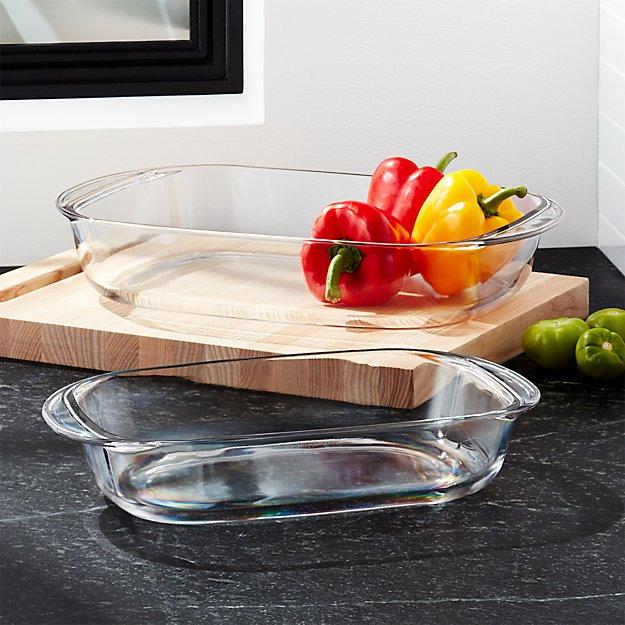 Duralex Rectangular Baking Dishes - Image 1 of 3