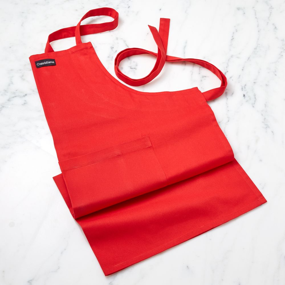 Red Apron - Crate and Barrel