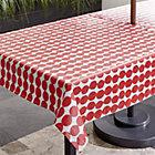 RedDotsUmbTablecloth54x90SHS17