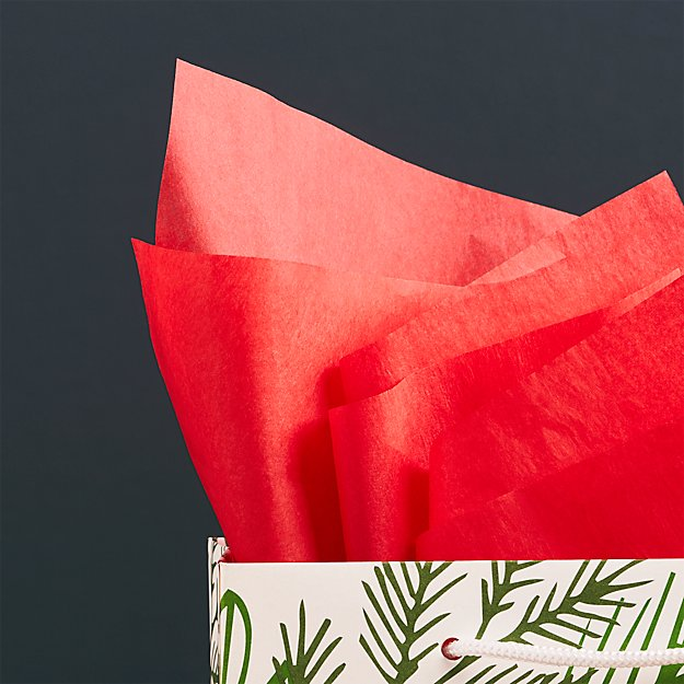 Red Gift Tissue