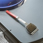 Red Grip BBQ Grill Brush