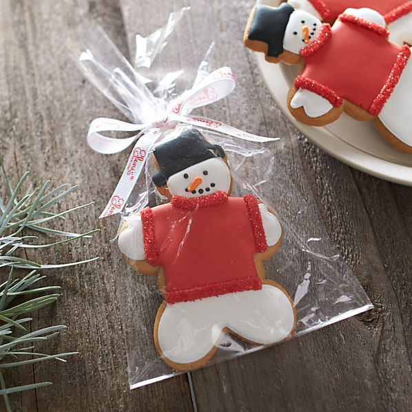 Sweater Snowman Cookie