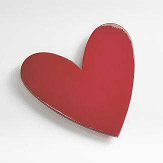 Red Valentine Heart Trivet