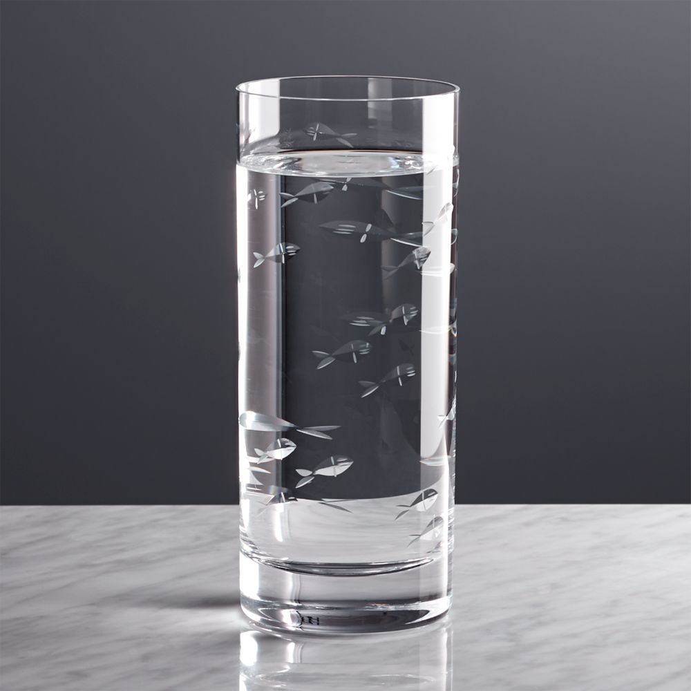 Reef Highball Glass - Crate and Barrel