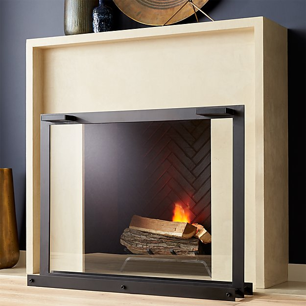 Reflection Fireplace Screen