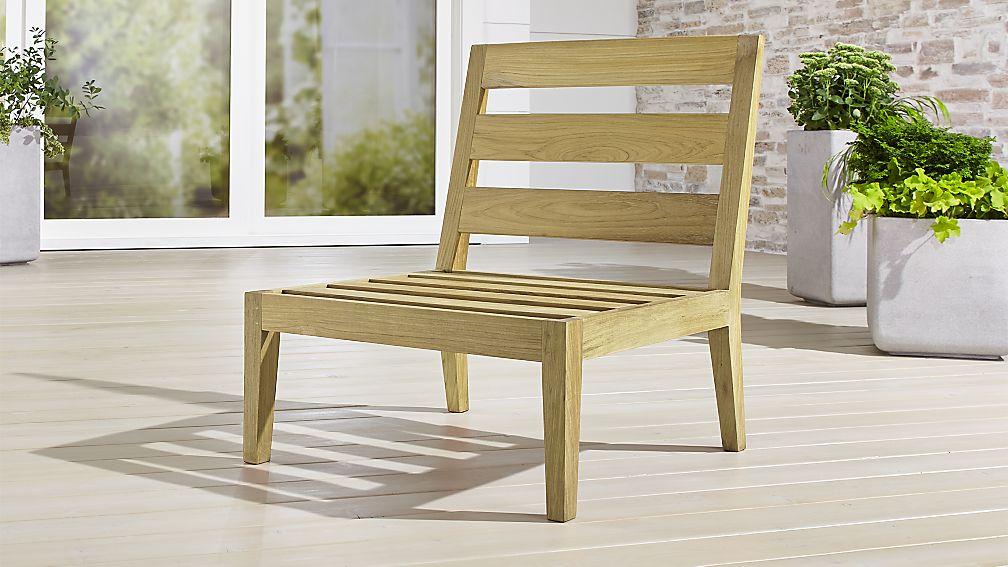 Regatta Natural Armless Chair - Image 1 of 5
