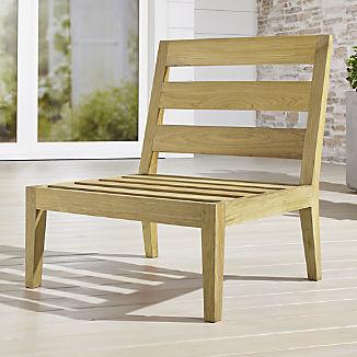 Regatta Natural Armless Chair