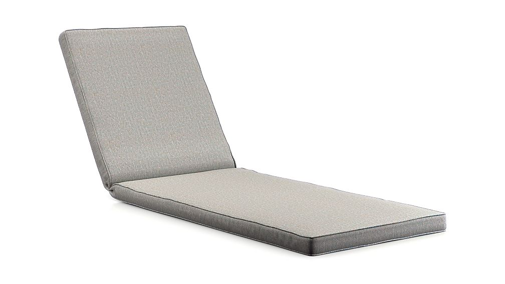 Regatta Cement Revolution Fabric Chaise Lounge Cushion - Image 1 of 1