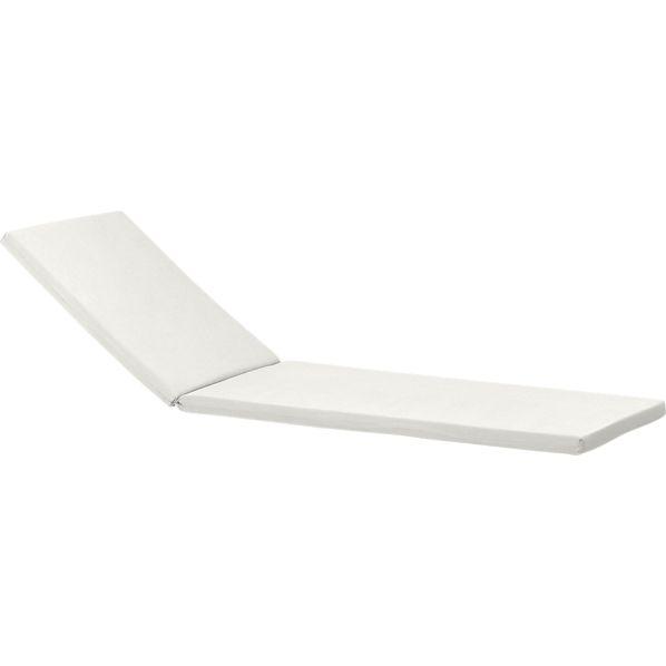 Regatta Sunbrella ® White Sand Chaise Lounge Cushion