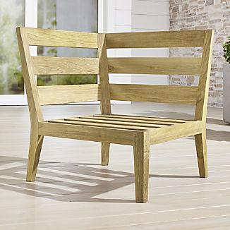 Regatta Natural Corner Chair